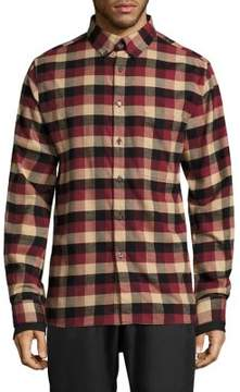 Public School Leto Plaid Casual Button Down Shirt
