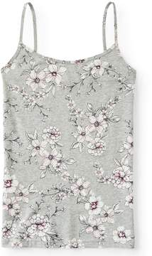 Aeropostale Flower Branch Basic Cami