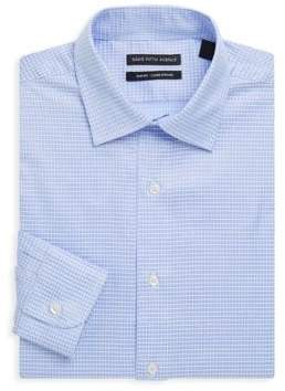 Saks Fifth Avenue BLACK Slim-Fit Cotton Dress Shirt