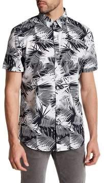 Sovereign Code Printed Regular Fit Shirt