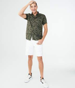 Aeropostale Tiger Camo Woven Shirt