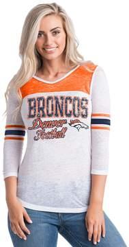 5th & Ocean By New Era Women's by New Era Denver Broncos Burnout Tee