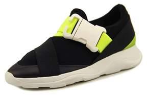 Christopher Kane Ss16 Women Round Toe Synthetic Black Walking Shoe.