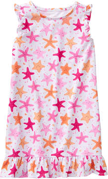 Gymboree Pink Starfish Gown - Toddler & Girls