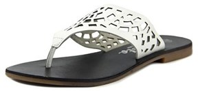 Callisto Dominica Women Us 7 White Slides Sandal.