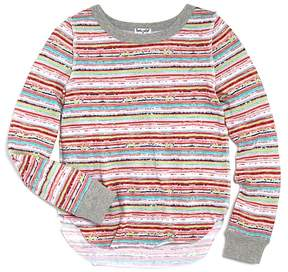 Splendid Girls' Mixed Stripes Top - Big Kid
