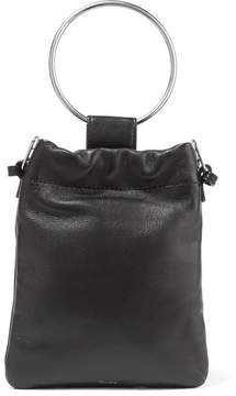 Theory Leather Pouch - Black