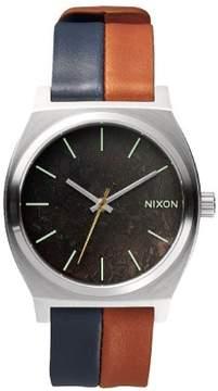 Nixon Time Teller A045-1957 Blue, Brown/Bronze Analog Quartz Unisex Watch'