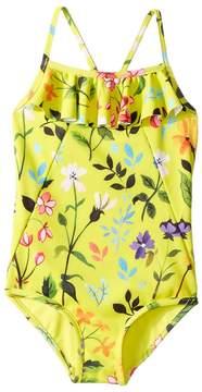 Oscar de la Renta Childrenswear Springfield Ruffle Swimsuit Girl's Swimsuits One Piece