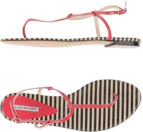 Alexa Wagner Toe strap sandals