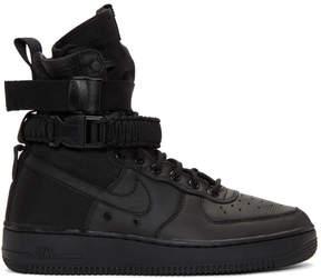 Nike Black SF Air Force 1 High-Top Sneakers