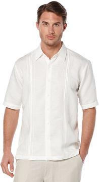 Cubavera Short Sleeve Linen Pleat