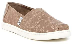 Toms Alpargata Foil Feathers Slip-On (Little Kid & Big Kid)