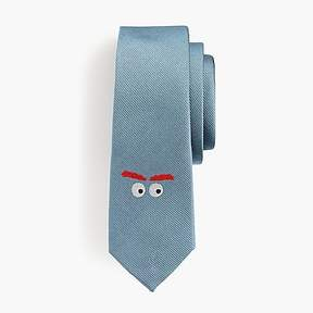 J.Crew Boys' silk critter tie in Max the Monster