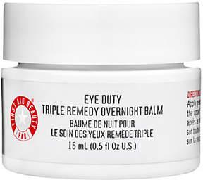 First Aid Beauty Eye Duty Triple Remedy Overnight Balm, 0.5 oz