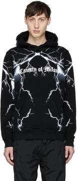 Marcelo Burlon County of Milan Black Telgo Hoodie