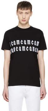 McQ Black Repeat Logo T-Shirt