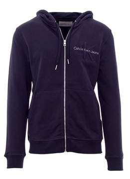 Calvin Klein Jeans Men's Blue Cotton Sweatshirt.