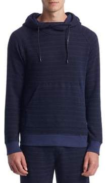 Madison Supply Long-Sleeve Funnelneck Cotton Sweater