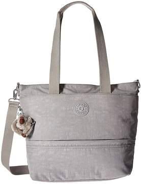Kipling Tiffani Tote Tote Handbags - SLATE GREY - STYLE