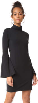 Bobi Flare Sleeve Dress