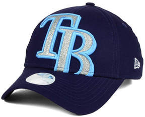 New Era Women's Tampa Bay Rays Glitter Glam 9FORTY Strapback Cap