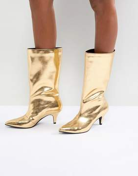 Asos X MARY BENSON Knee Boots