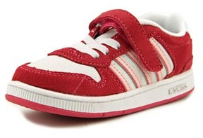K-Swiss Jackson Vlc Toddler Round Toe Leather Pink Tennis Shoe.