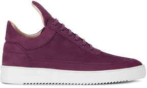 Filling Pieces Purple Low Top Lane Sneakers