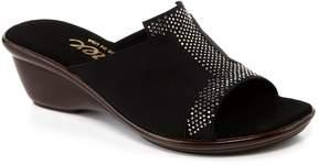 Onex Andi Elastic Stone Embellished Banded Slide Sandals