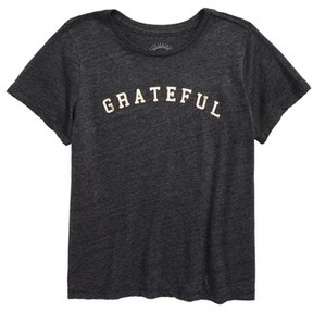 Spiritual Gangster Girl's Grateful Arch Graphic Tee