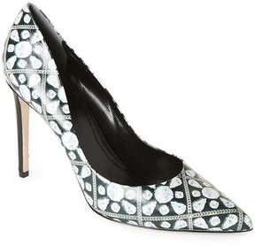 Rodo Jewel Print Pointed Toe Pumps