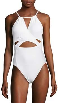 LaBlanca La Blanca Women's Island Cut-Out One Piece Swimsuit