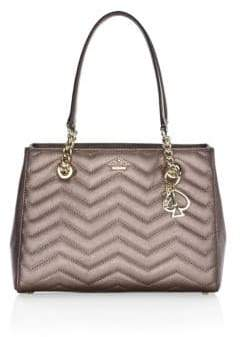 Kate Spade Reese Park Courtnee Small Quilted Leather Tote