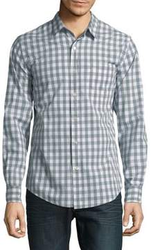 Dockers Premium Edition Gingham Button-Down Shirt