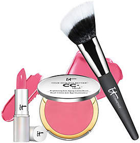 It Cosmetics Your Perfect Pink for Lips & Cheeks 3pc Collection