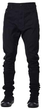 Diesel Black Gold Men's Black Cotton Pants.