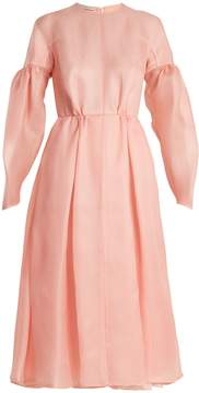 Emilia Wickstead Flora silk-gazar midi dress