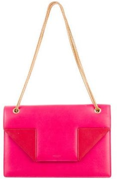 Saint Laurent Colorblock Betty Bag - PINK - STYLE