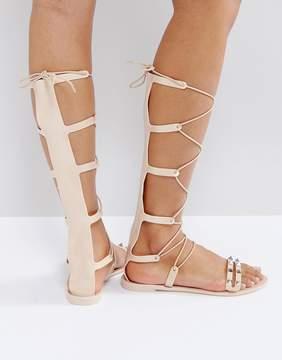 Asos FREEMAN Jelly Gladiator Flat Sandals