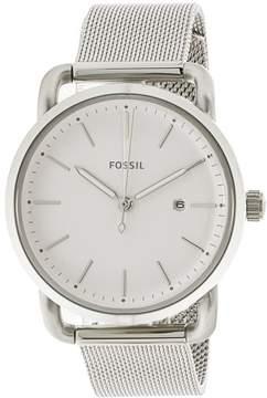 Fossil Women's The Commuter ES4331 Silver Stainless-Steel Quartz Fashion Watch