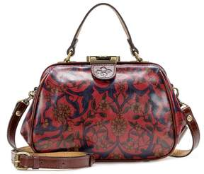Patricia Nash Vintage Tapestry Collection Gracchi Frame Satchel