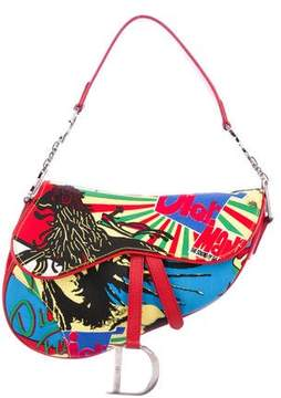Christian Dior Bob Marley Saddle Bag