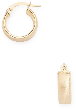Candela Women's 14K Yellow Gold Huggie Earrings