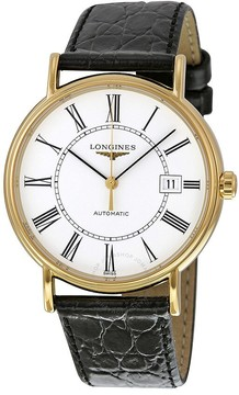 Longines La Grande Classic Automatic White Dial Men's Watch 49212112