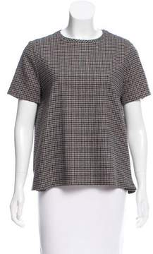 Boy By Band Of Outsiders Plaid Wool Top