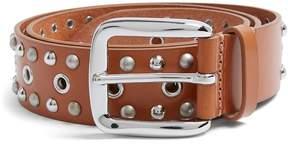 Isabel Marant Rica stud-embellished leather belt