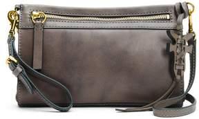 Frye Carson Wristlet Distressed Leather Cross-Body Bag