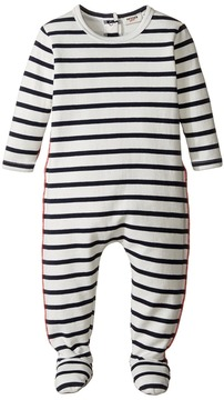 Junior Gaultier Striped Footie (Infant)