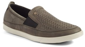 Ecco Men's 'Collin' Perforated Slip On Sneaker